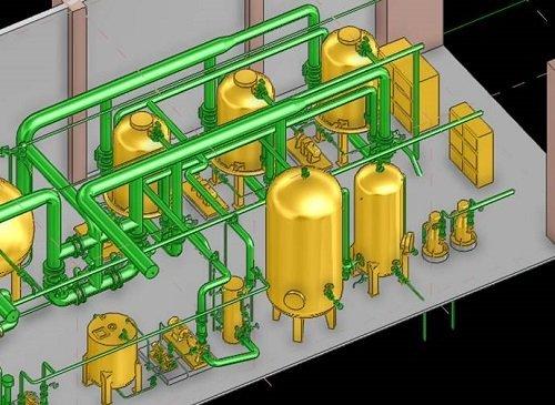 condensate polishing powder coated technology