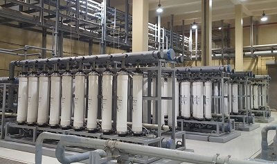Seawater Reverse Osmosis System with DAF Finished in Saudi Arabia