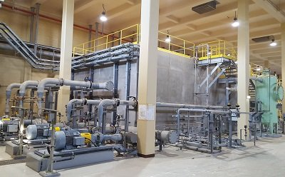 Dissolved air flotation finished in saudi arabia