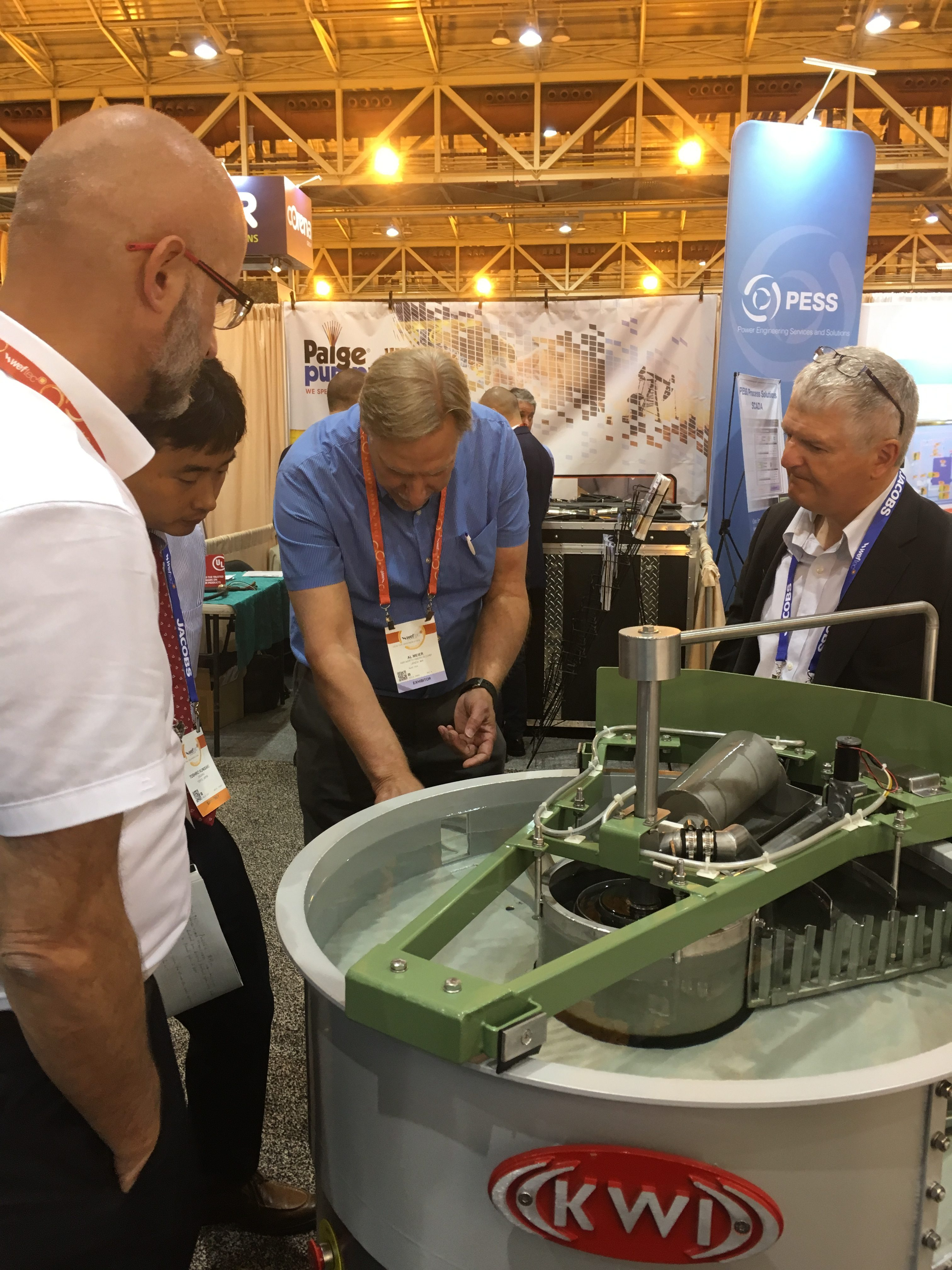 swt at weftec18 with global affiliates